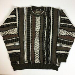 Vintage oversized grandpa sweater size XL